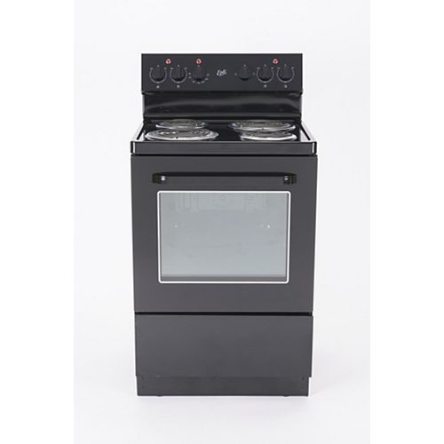 "Epic 24"" Black Electric Range"