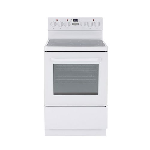 "Marathon 24"" Smoothtop Electric Range with Schott® Ceran Cooktop"