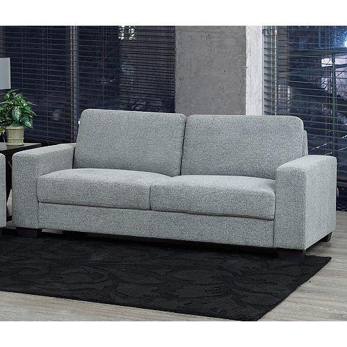 Hampton 3-Seater Sofa, Grey
