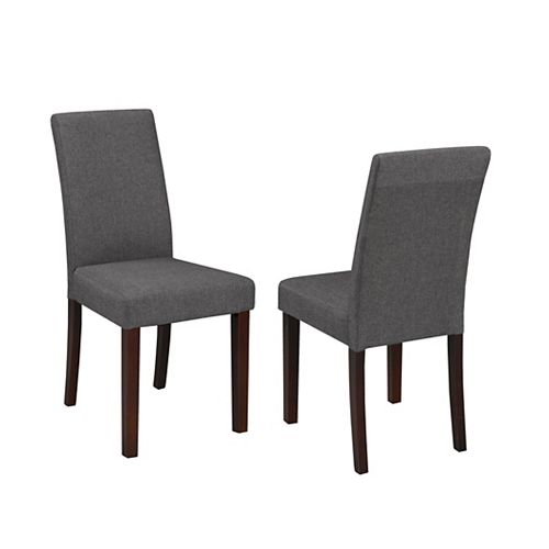 Dining Chair, Set of 2, Grey