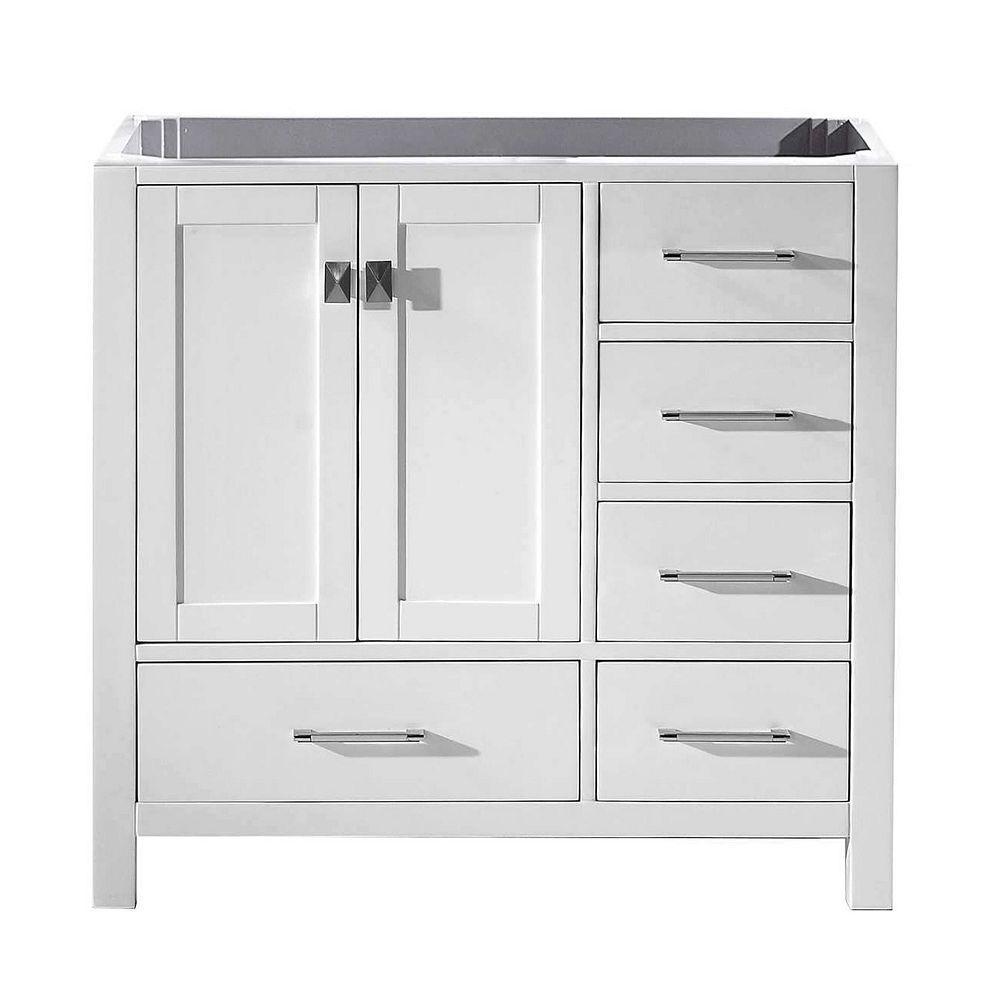 Virtu USA Caroline Avenue 36-inch Single Cabinet Only in ...