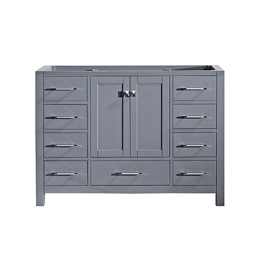 Caroline Avenue 48-inch Single Cabinet Only in Grey