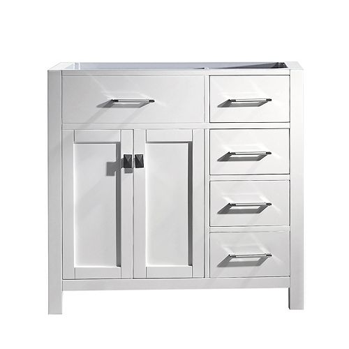 Caroline Parkway (R) 36-inch Single Cabinet Only in White