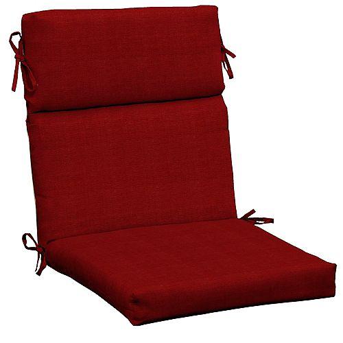 CushionGuard Chili High Back Dining Chair Cushion