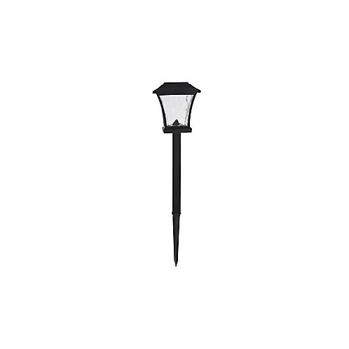 14-Lumen Solar LED Bronze Landscape Pathway Light