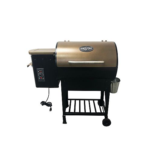 305 Sq. Inch Cooking Surface Pellet Grill