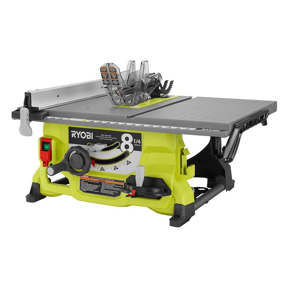 RYOBI 13 Amp 8-1/4 -inch Table Saw