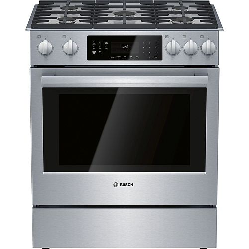 800 Series All-Gas Slide-In Range