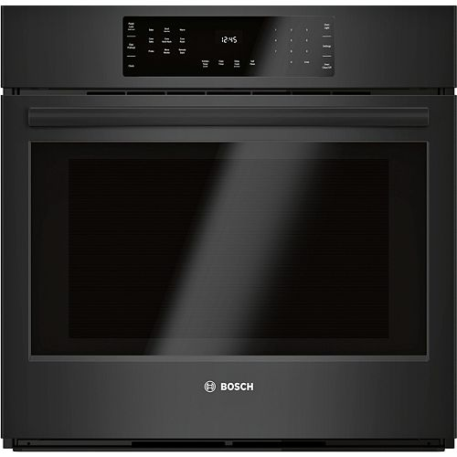 """800 Series, 30"""", Single Wall Oven, Black, Home Connect"""