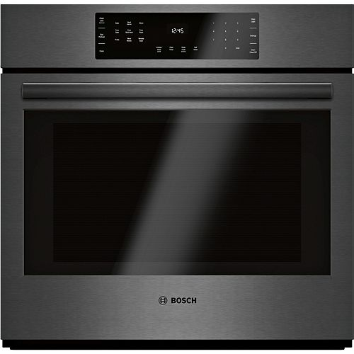 Bosch 800 Series 30-Inch Smart Built-In Single Wall Oven with Home Connect and European Convection
