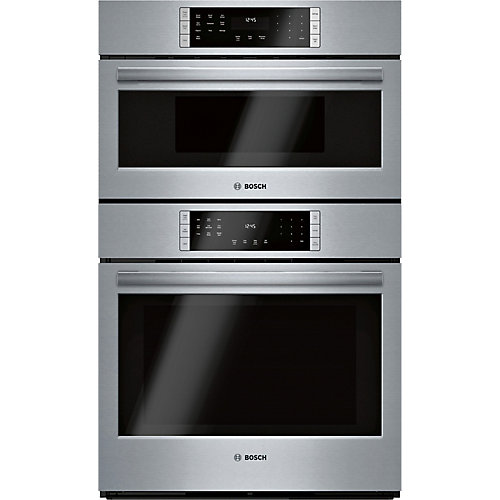 800 Ser., Combination Oven w/ Speed Oven, SS, Home Connect