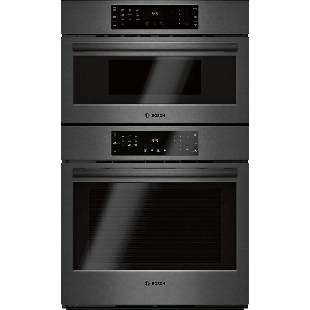 Bosch 800 Series 30-Inch Smart Built-In Speed Combination Wall Oven with Home Connect
