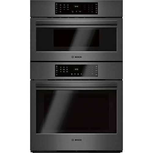 800 Ser., Combination Oven w/ Speed Oven, Blk SS, Home Connect