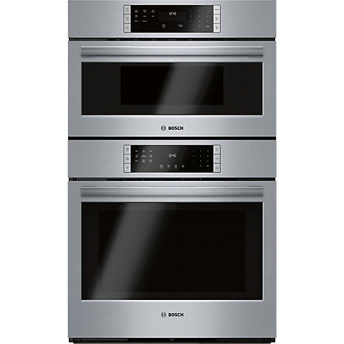 800 Ser., Combination Oven w/ Microwave Solo, SS, Home Connect