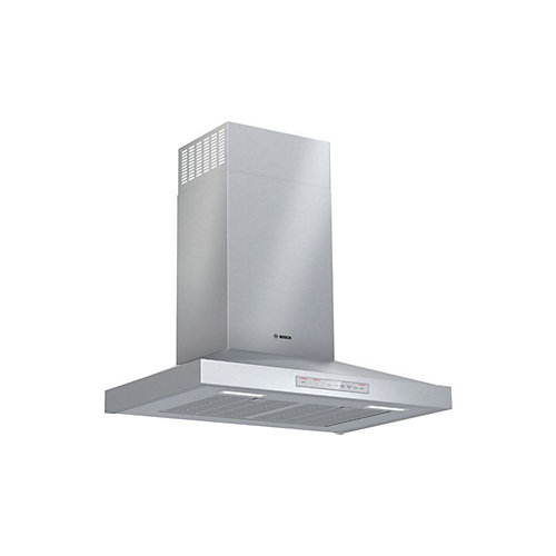 """Bosch 500 Series, 30"""" Pyramid style canopy, 600 CFM with Home Connect"""