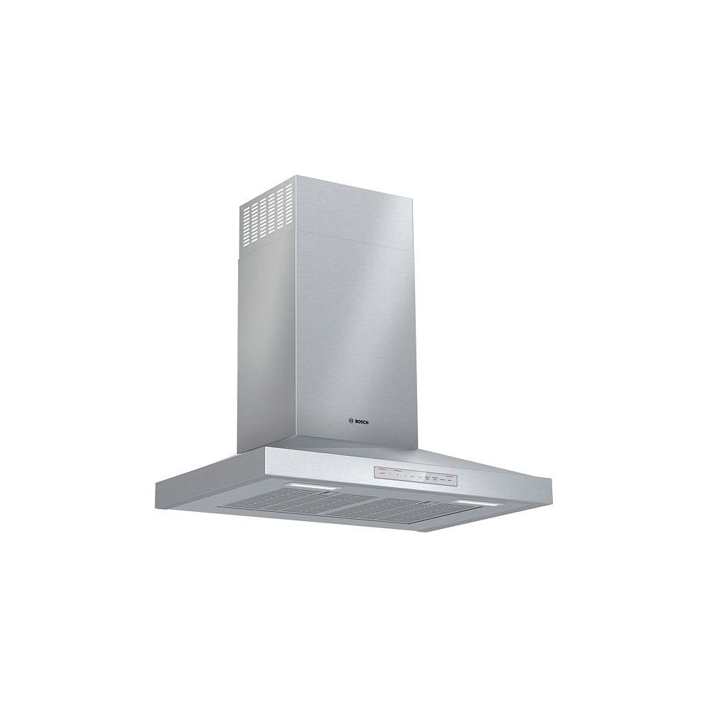 """Bosch 500 Series, 30"""""""" Pyramid style canopy, 600 CFM with Home Connect"""