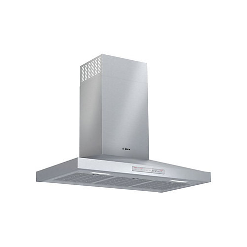 """Bosch 500 Series, 36"""" Pyramid style canopy, 600 CFM with Home Connect"""