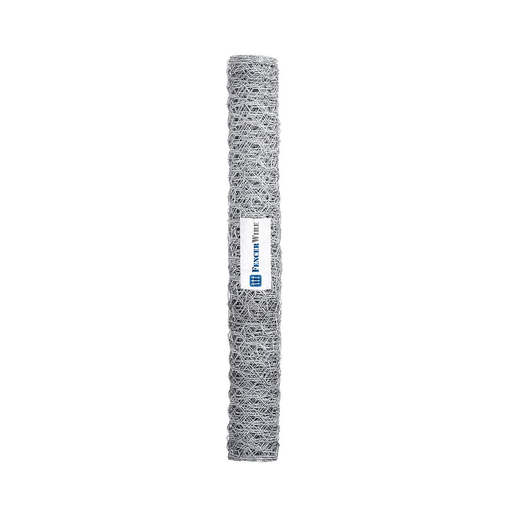 Fencer Wire 1 inch x 3 ft. x 25 ft. 20-Gauge Poultry Netting