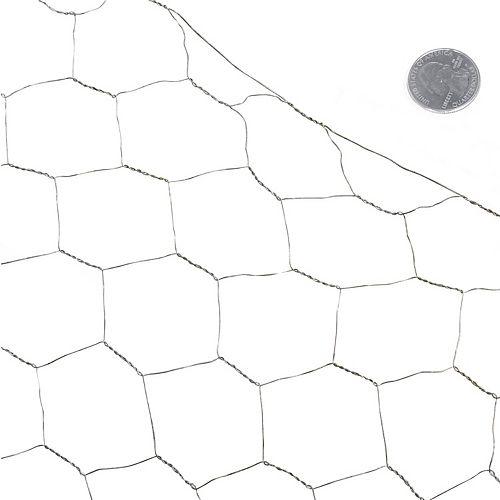 Fencer Wire 2 po. X 2 pi. X 25 pi. 20-Jauge Filet de Volière