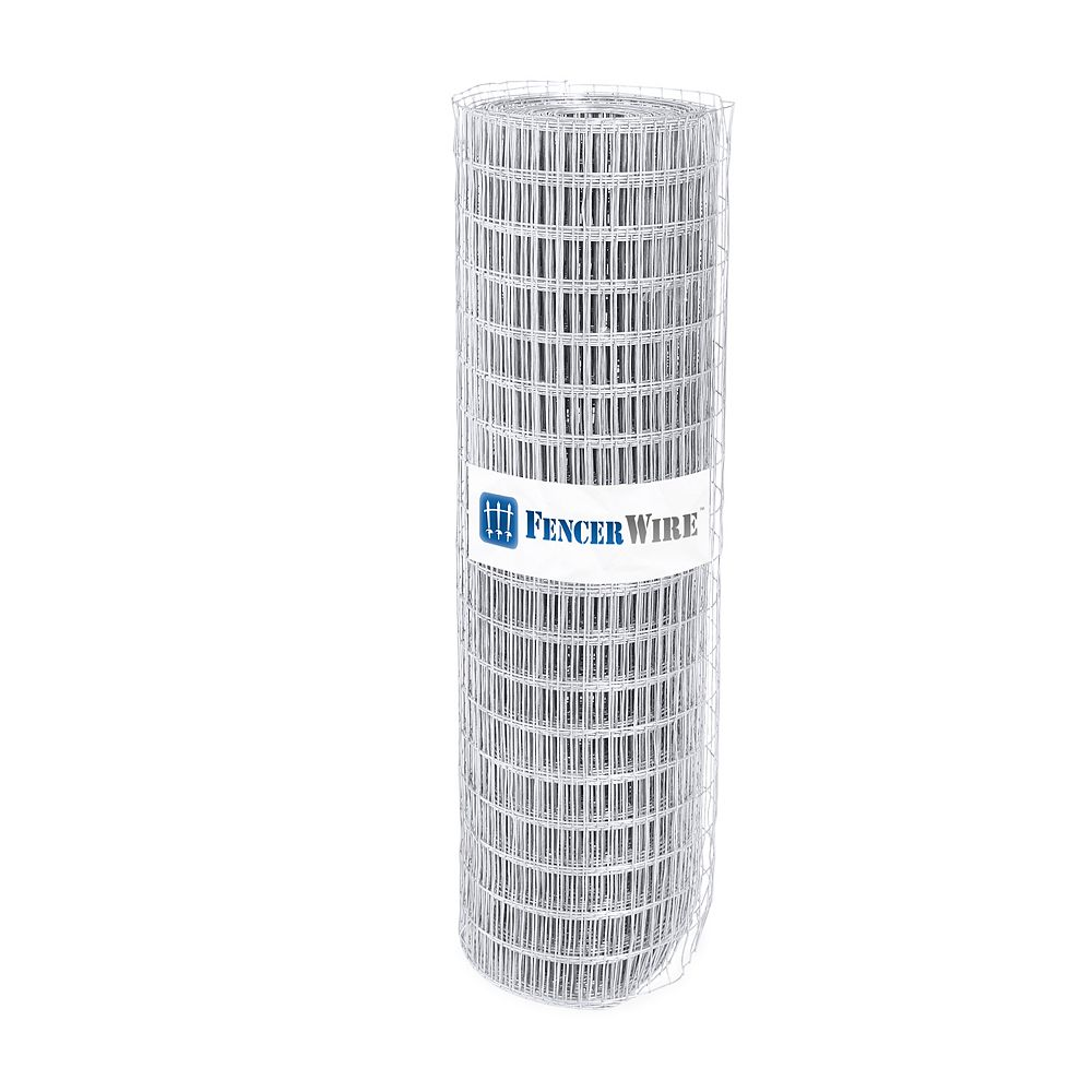 Fencer Wire 1 inch x 2 inch 3 ft. x 50 ft. 14-Gauge Galvanized Welded Fence