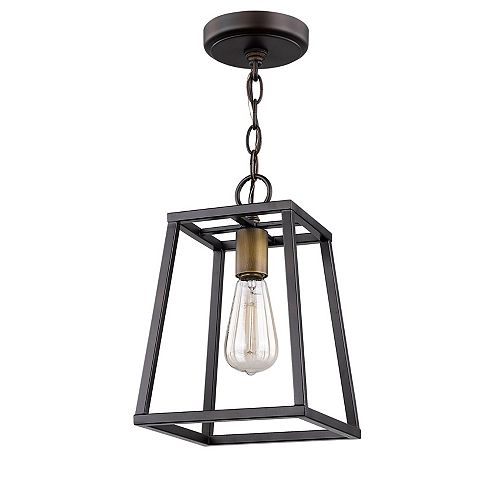 Acclaim Tiberton 1-Light Open Box Pendant