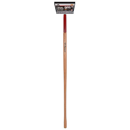9-inch Steel Floor Scraper with Long Handle