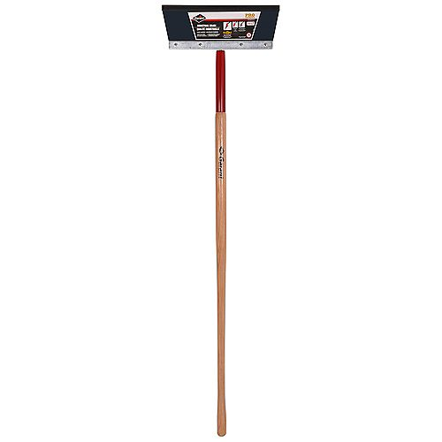14-inch Steel Floor Scraper with Long Handle