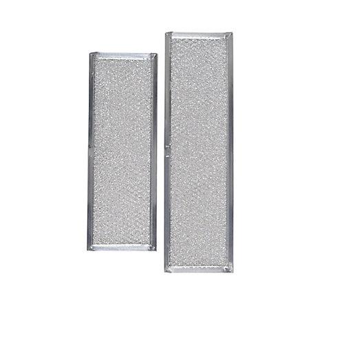 Aluminium replacement filters for Broan Elite 273603 Downdraft range hood