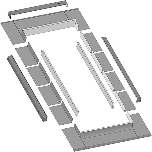 EL-T Insulated Thermo Step Flashing For FX 24X55 AND 24X70