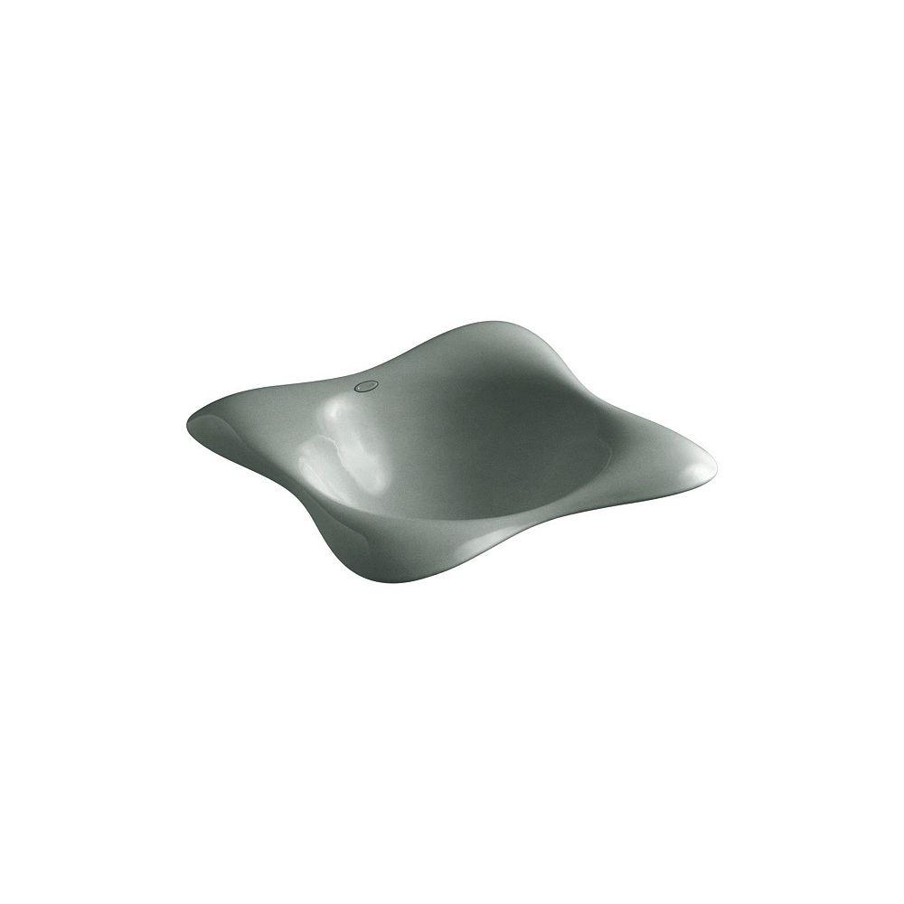 KOHLER Drop-In Bathroom Sink In Basalt