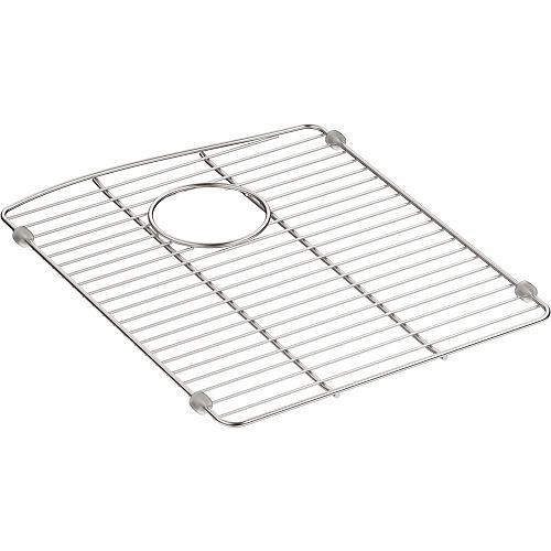 """Stainless Steel Sink Rack, 13 5/8"""" X 16 1/2"""", For Left-Hand Bowl"""