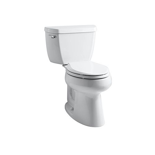 Comfort Height Two-Piece Elongated 1.28 Gpf Toilet