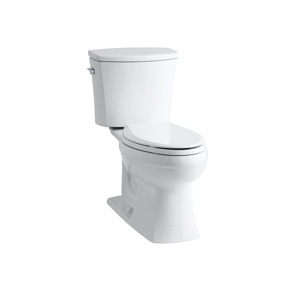 KOHLER Comfort Height Two-Piece Elongated 1.6 Gpf Toilet
