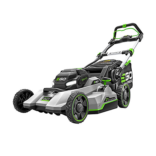 21-inch 56V Li-Ion Electric Cordless Select Cut Self Propelled Lawn Mower - 7.5 Ah Battery and Charger Included