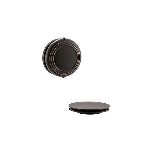 Traditional Rotary Turn Bath Drain Trim In Oil-Rubbed Bronze