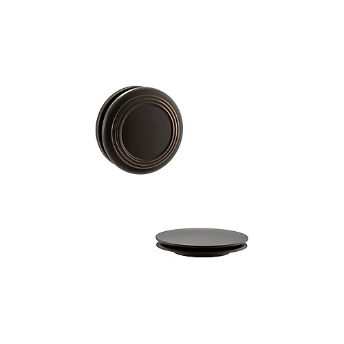 Traditional Push Button Bath Drain Trim In Oil-Rubbed Bronze