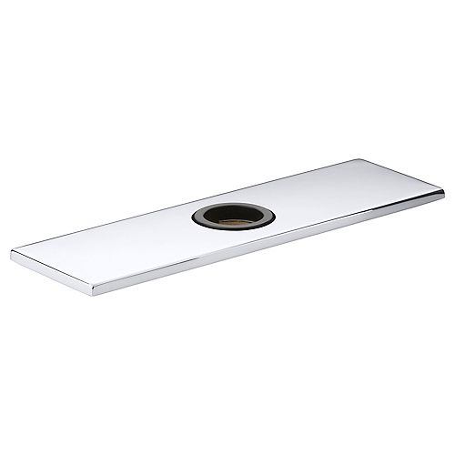 Optional 8 inch Escutcheon Square Plate For Insight Faucet