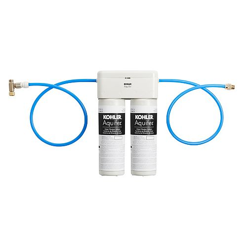 Aquifer Double-Cartridge Water Filtration System