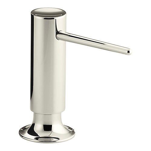 Contemporary Design Soap/Lotion Dispenser In Vibrant Polished Nickel