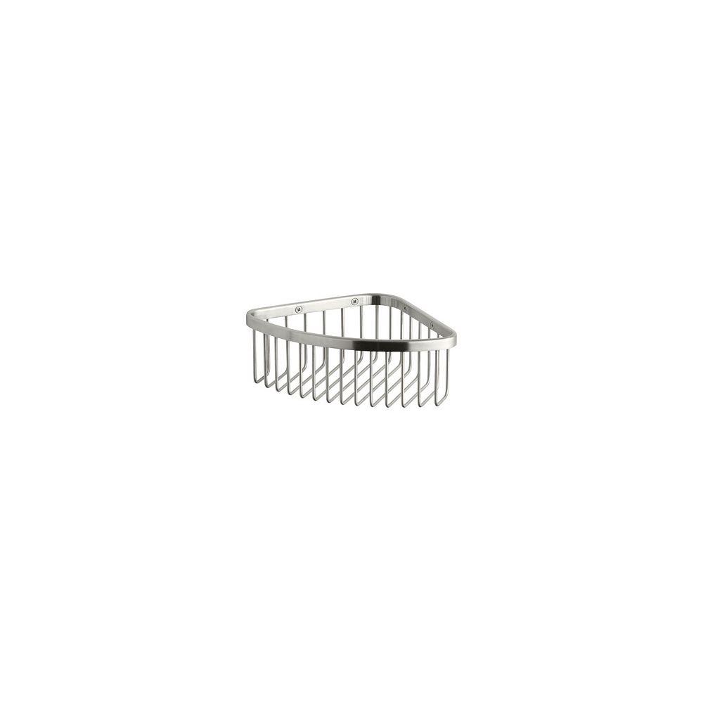 KOHLER Medium Shower Basket In Brushed Stainless