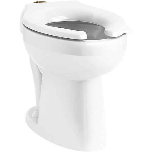 Ultra Ada-Height Flushometer Bowl With Top Spud