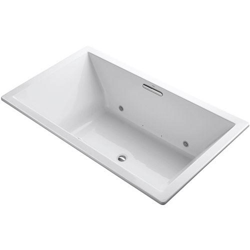 KOHLER 72 inch X 42 inch Drop-inch Bubblemassage Air Bath With Chromatherapy