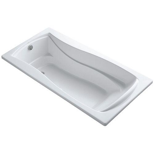 KOHLER 72 inch X 36 inch Drop-inch Bubblemassage Air Bath With Bask