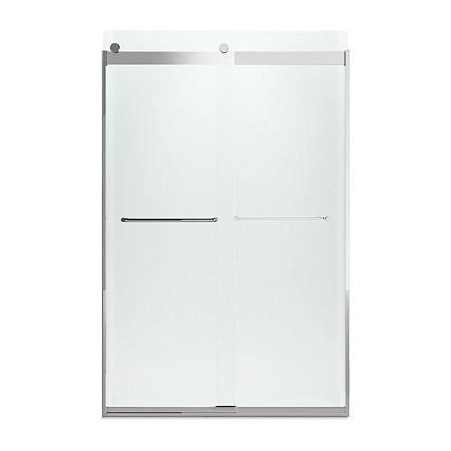 KOHLER 44-inch To 47-inch W X 74-inch H Bright Silver Sliding Shower Door