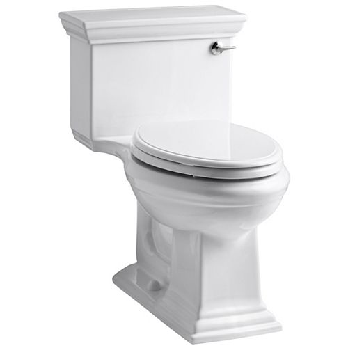 KOHLER Memoirs 1.28 White Watersense Elongated Chair Height 1-Piece Toilet