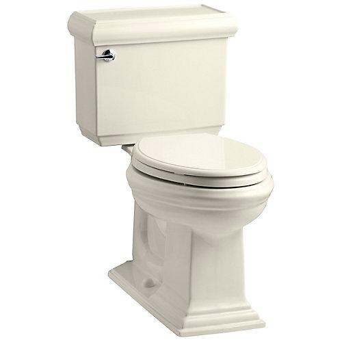 Memoirs 1.6 Almond Elongated Chair Height 2-Piece Toilet