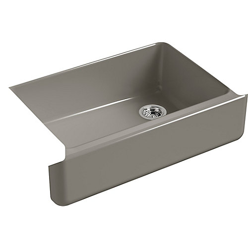 Self-Trimming 32-11/16 X 21-9/16 Undermount Single-Bowl Kitchen Sink With Tall Apron