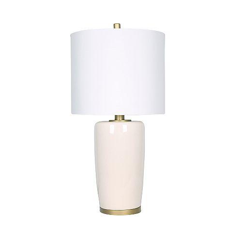 Beige Ceramic Table Lamp
