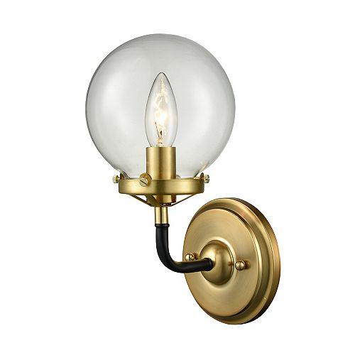 wall lamp - satin gold