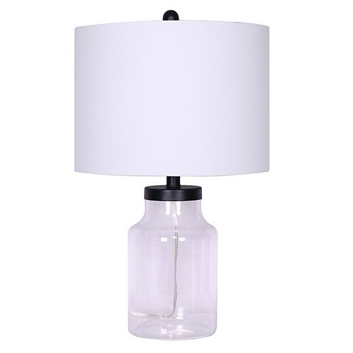Liam Glass Table Lamp